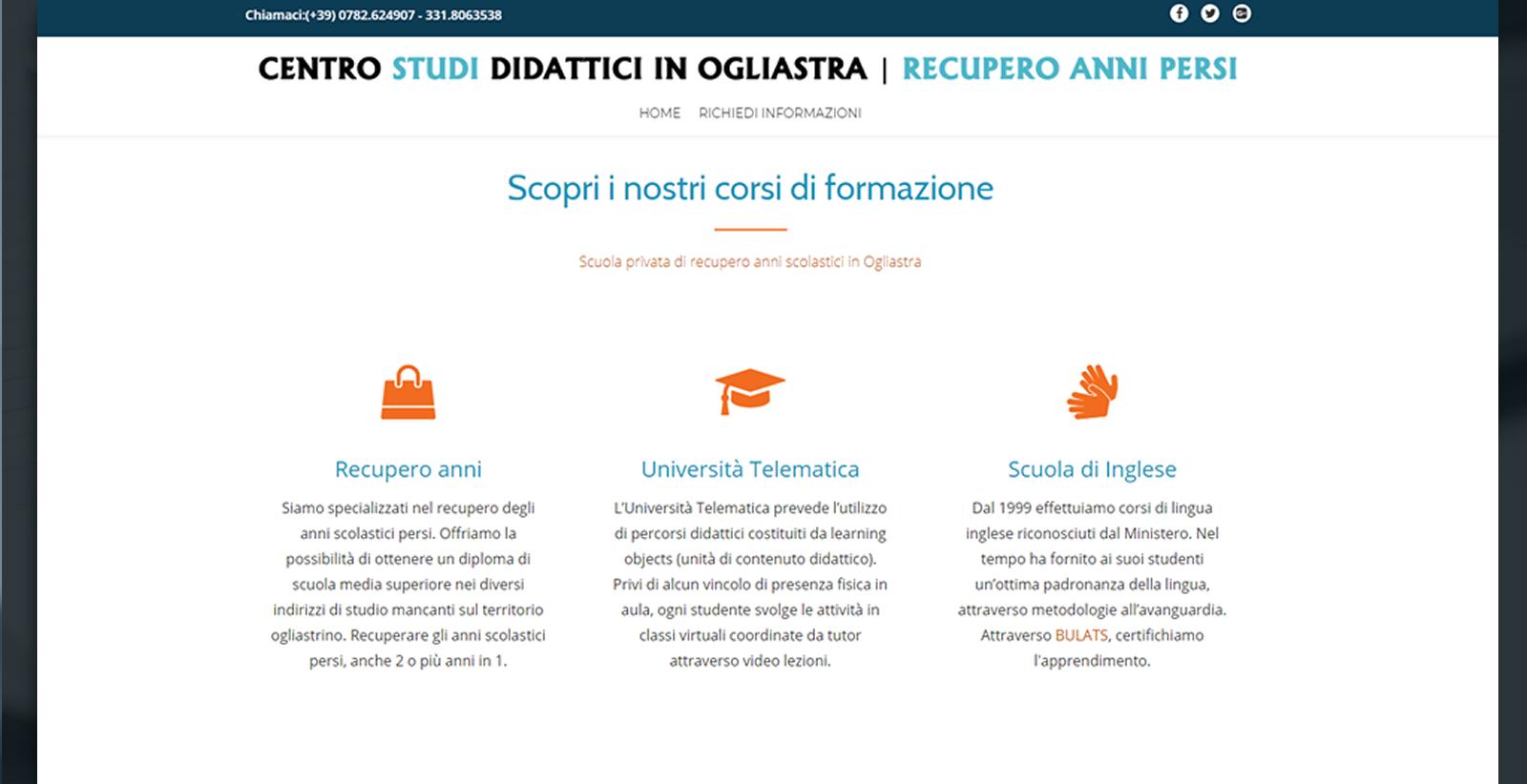Diploma in Ogliastra | Recupero anni persi