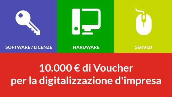 Vaucher Digitalizzazione 2018